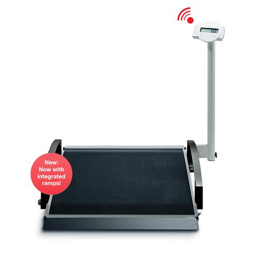 Bascula electronica para sillas de ruedas
